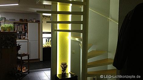 wendeltreppe lichtdesign led. Black Bedroom Furniture Sets. Home Design Ideas