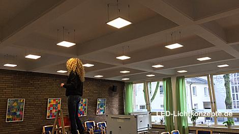 Elegant 30x30 LED Panel Installation